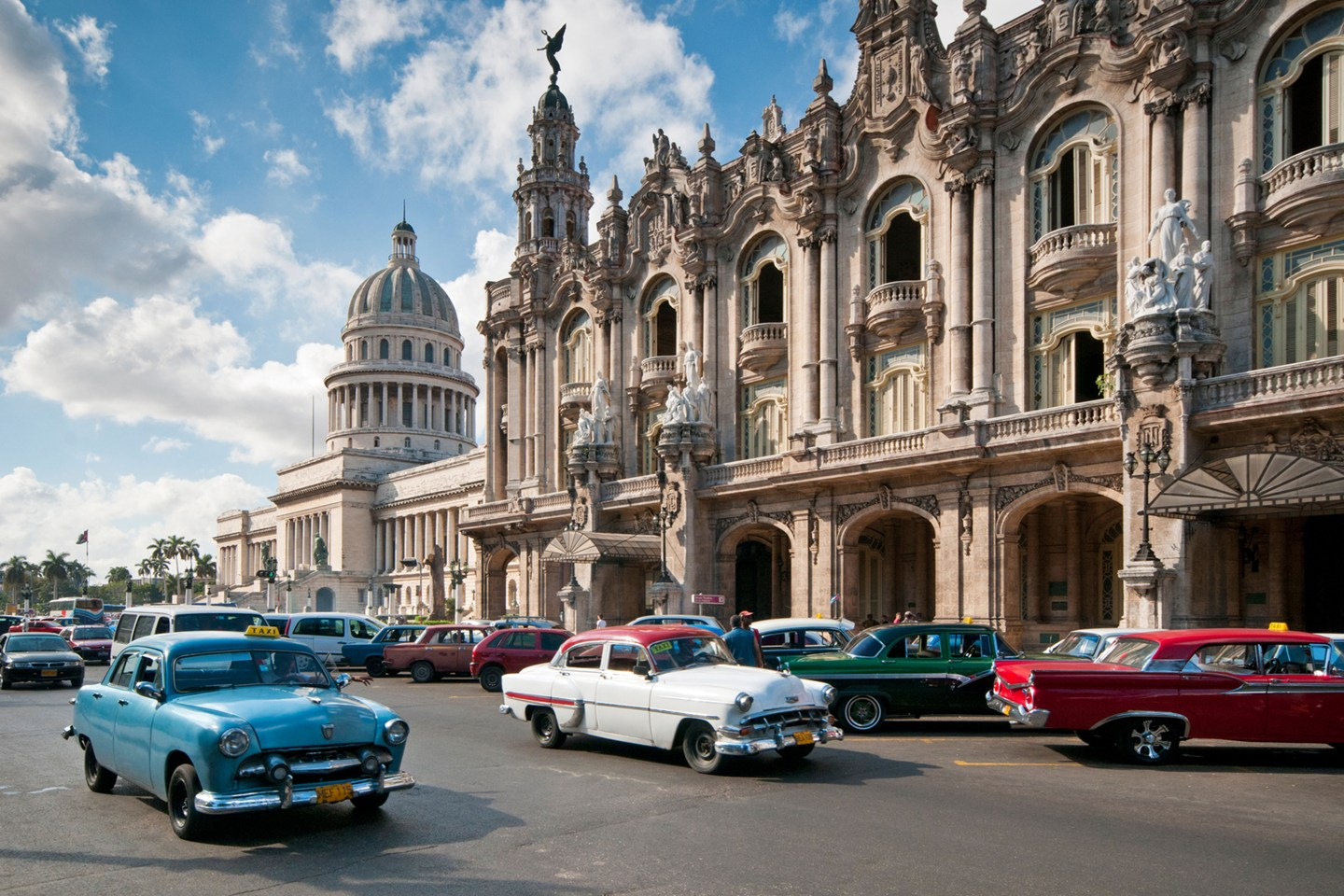 Image of Cuban street for study and travel courses to Cuba