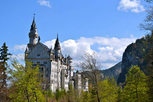 Image of German castle for study and travel courses to Germany