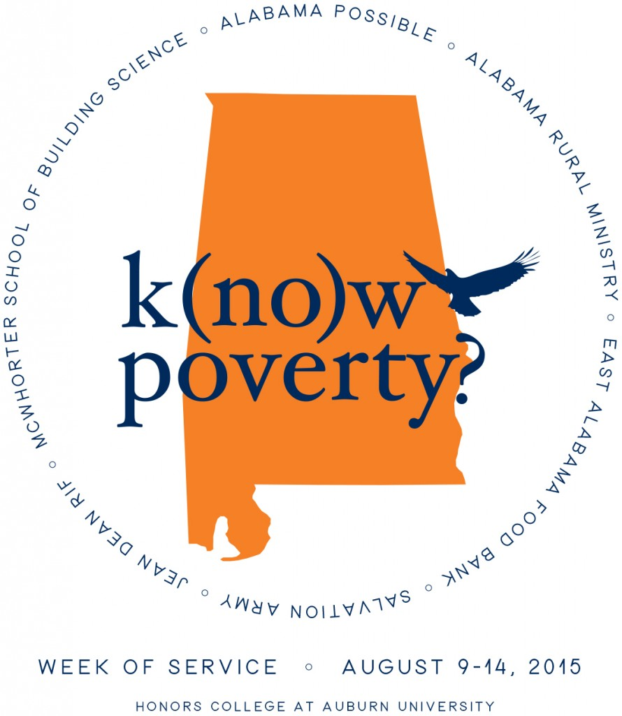 K(no)w Poverty 2015 flyer