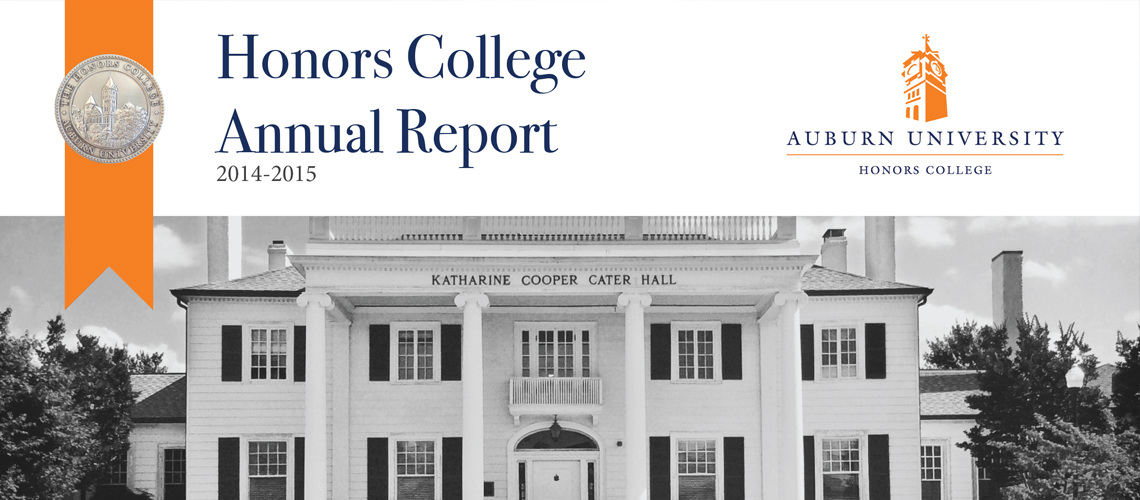Honors College Annual Report Now Available