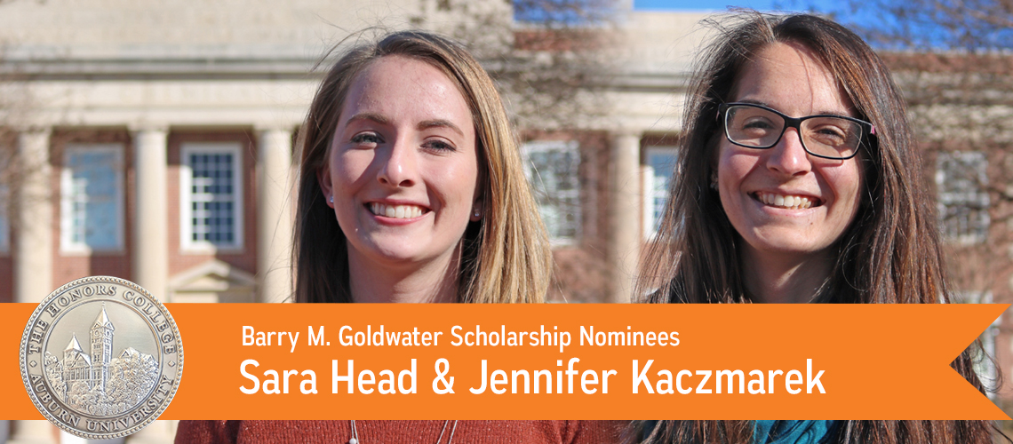 Sara Head & Jennifer Kaczmarek Nominated for Goldwater