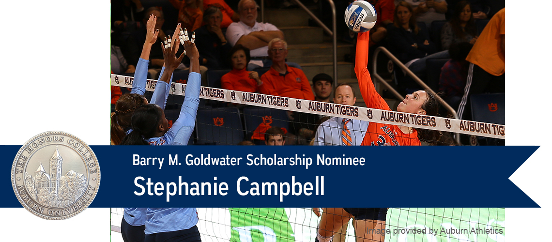 Stephanie Campbell Nominated for Goldwater