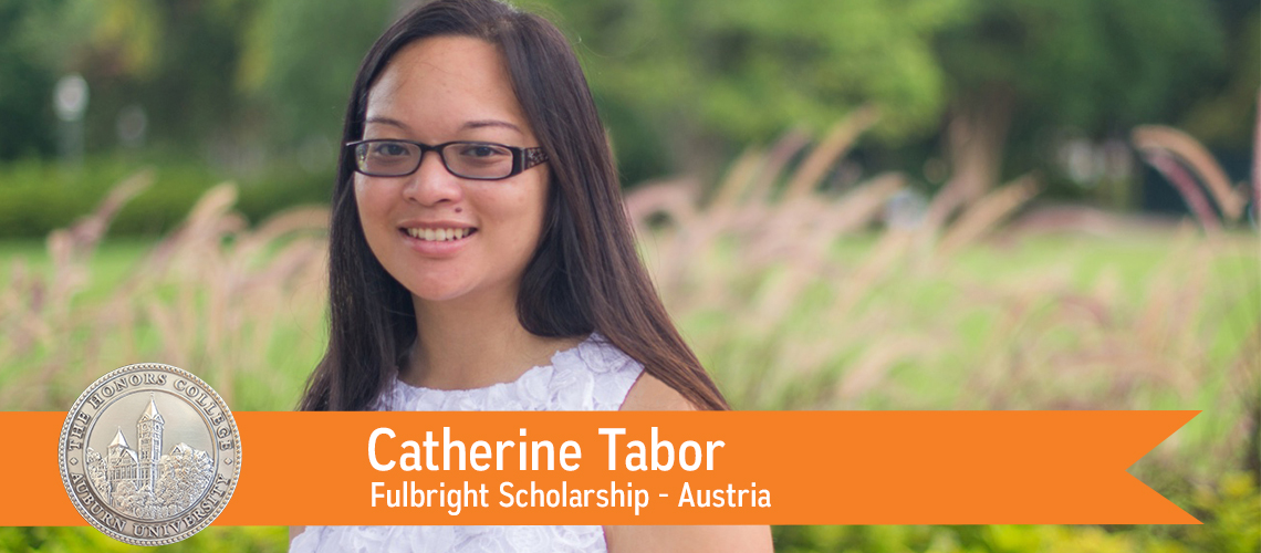 Catherine Tabor Receives Fulbright Scholarship
