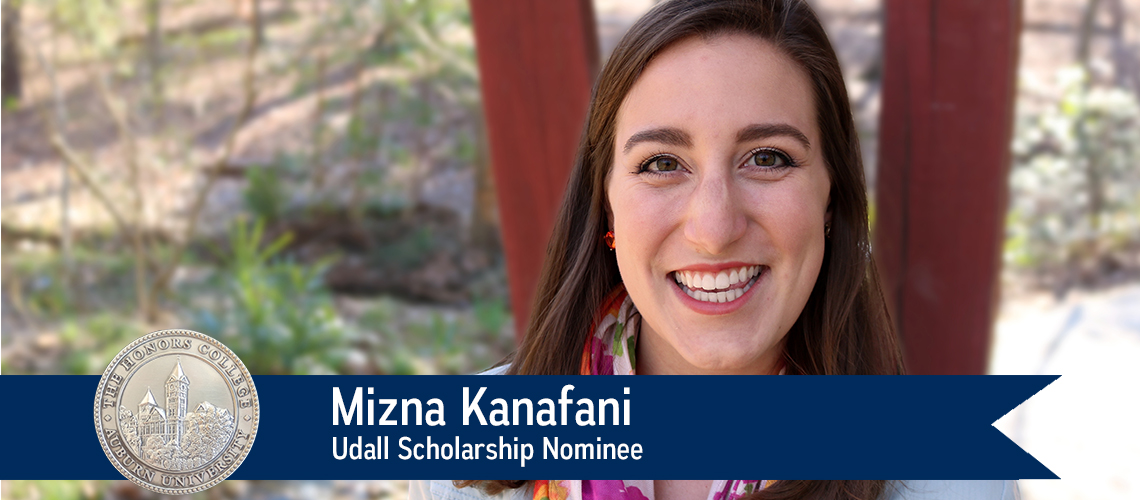 Mizna Kanafani Nominated for Udall