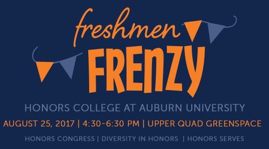 freshmen frenzy August 25 upper quad