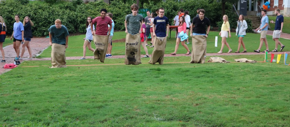 First Year Honors Students Welcomed During Frenzy