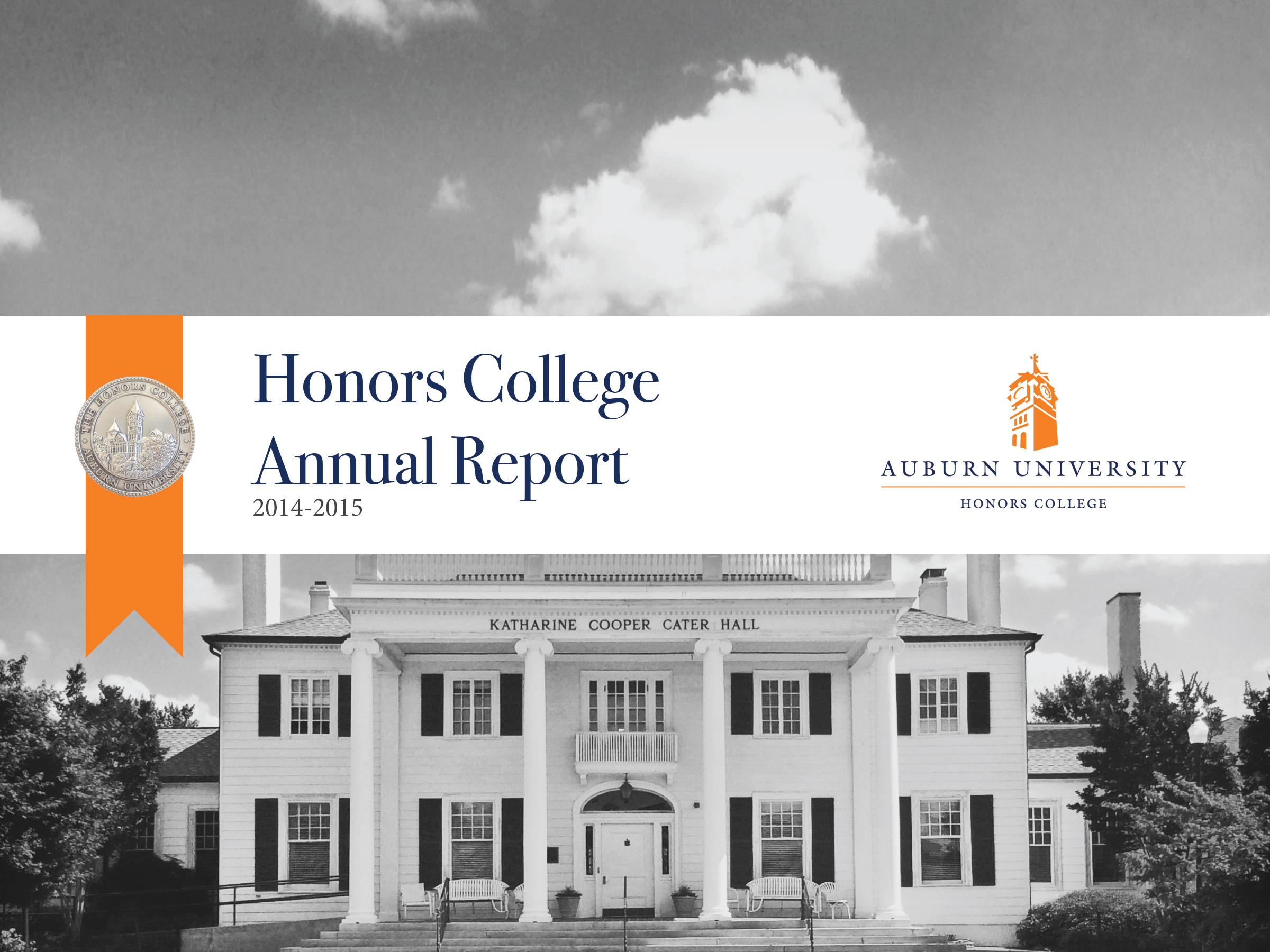 Cover of the 2014-2015 Annual Report