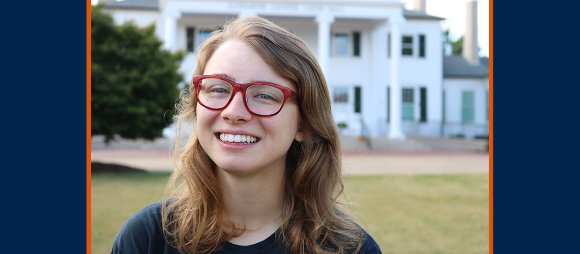 Auburn Honors College senior Sarah Pitts finalist for Rhodes Scholarship