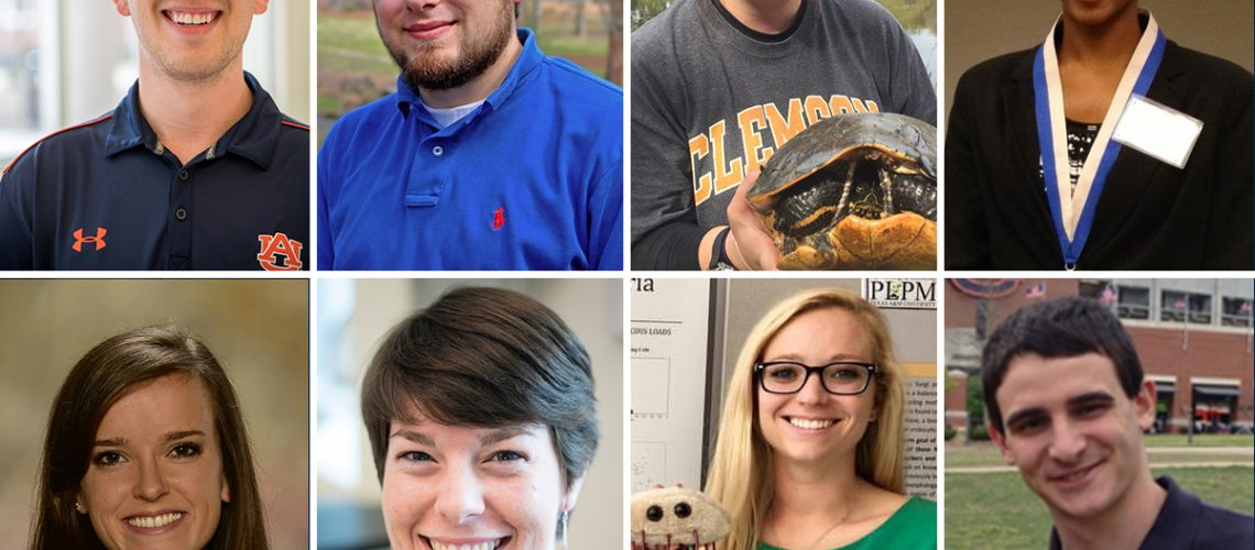 Record Number of Auburn students receive National Science Foundation Fellowships