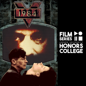 movie poster for 1984 with HC film series graphic