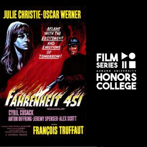 Poster for Fahrenheit 451 with HC film series graphic