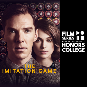 imitation game movie poster with HC film series graphic