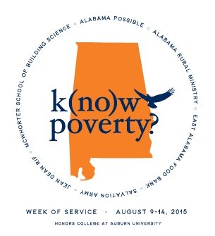 K(no)w Poverty 2015 flyer