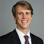 Headshot of NCAA Post Graduate Award winner Wesley Curles