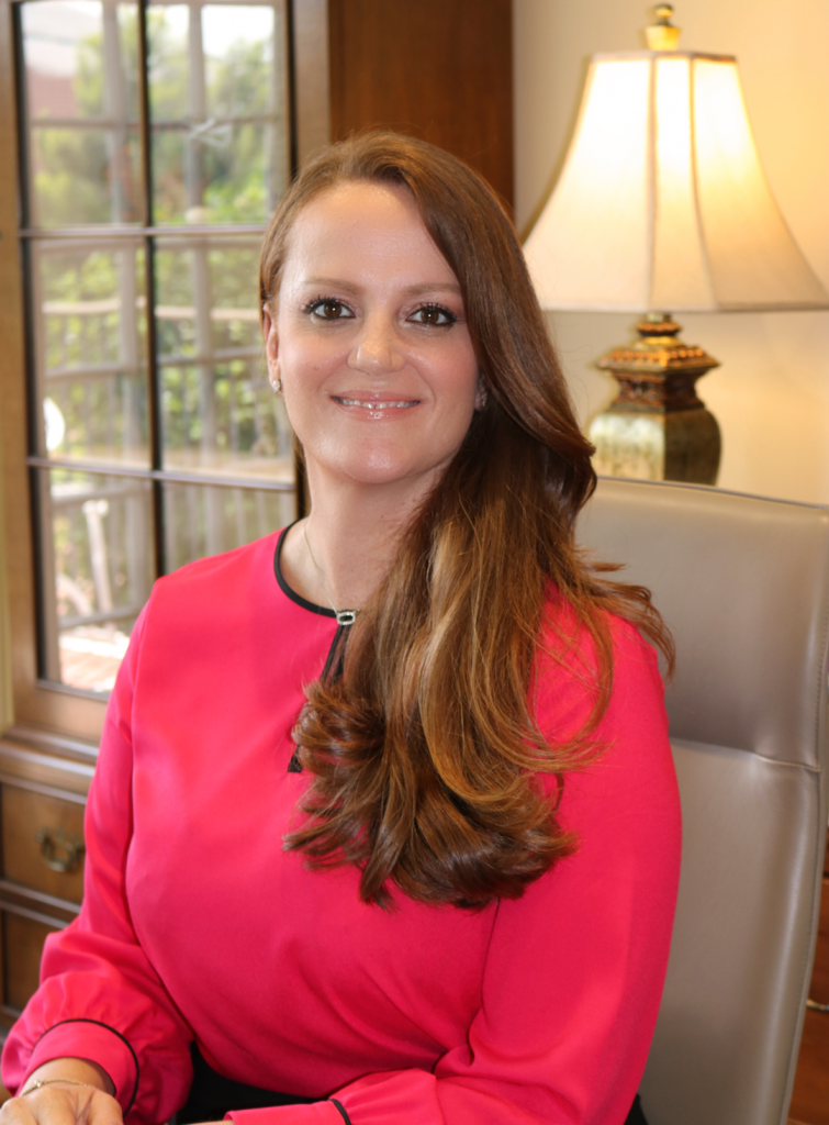 Headshot of Director Tiffany Sippial in her office