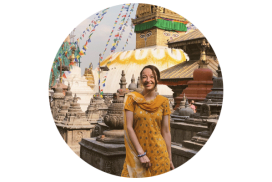 Lindsay Olive feature on Nepal internship