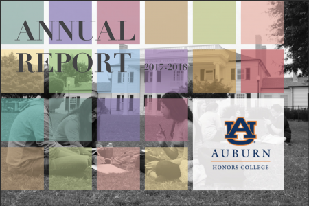 cove of the 2017-2018 Honors College Annual Report