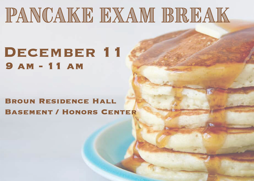 Pancake Exam Break graphic
