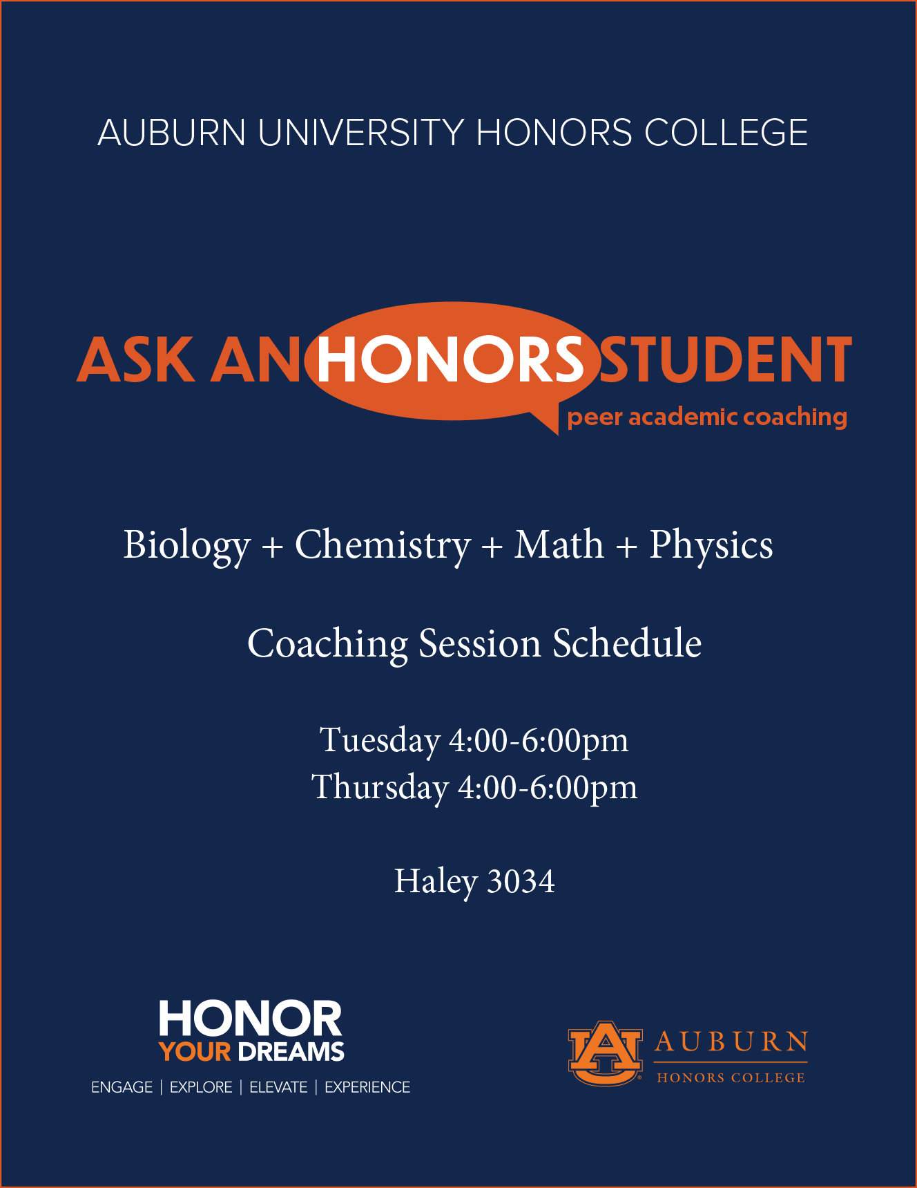 Peer Academic Coaching | Honors College